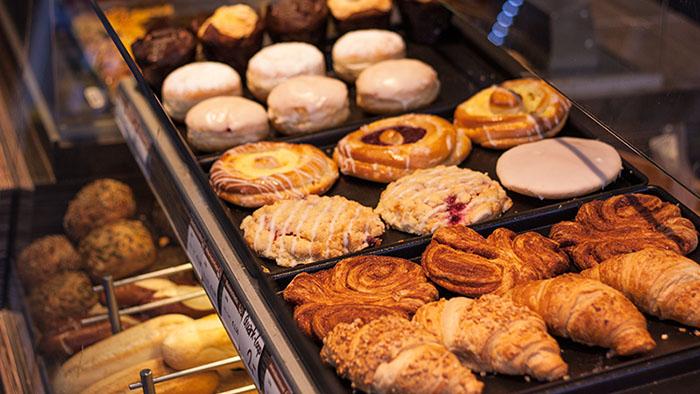 Alstercafé in Hamburg Hohenfelde Backwaren